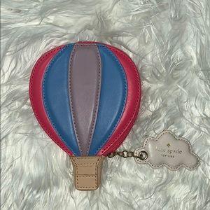 Kate Spade Hot Air Balloon coin purse